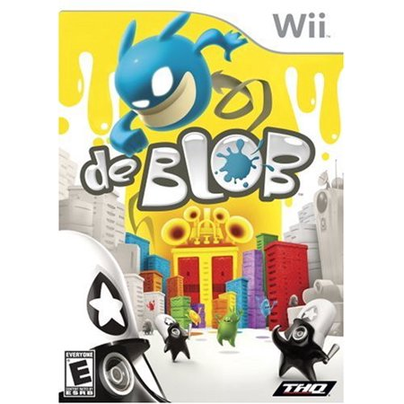 De Blob - Nintendo Wii - Halloween De Juegos Gratis