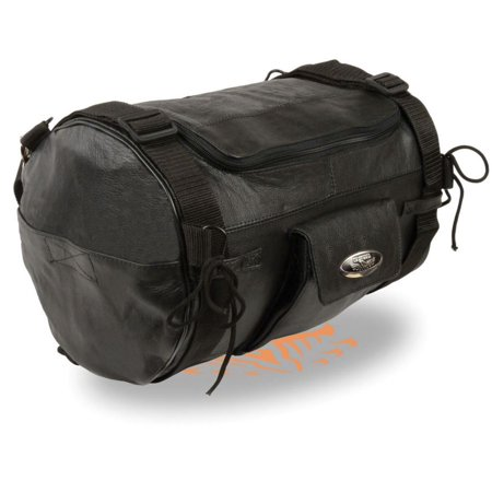 Milwaukee Leather Sissy Bar Roll Bag