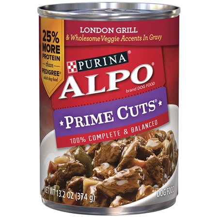 Can Of Alpo Dog Food