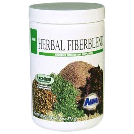 AIM Herbal Fiberblend Unflavored (13oz) Powder to maintain regular bowl movements, healthy cholesterol & blood (Diet For High Blood Sugar And Cholesterol)