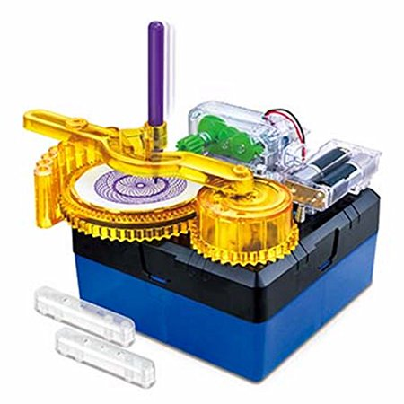 Amazing Drawer - Build Your Own Spiral Drawing Machine! - image 1 de 1