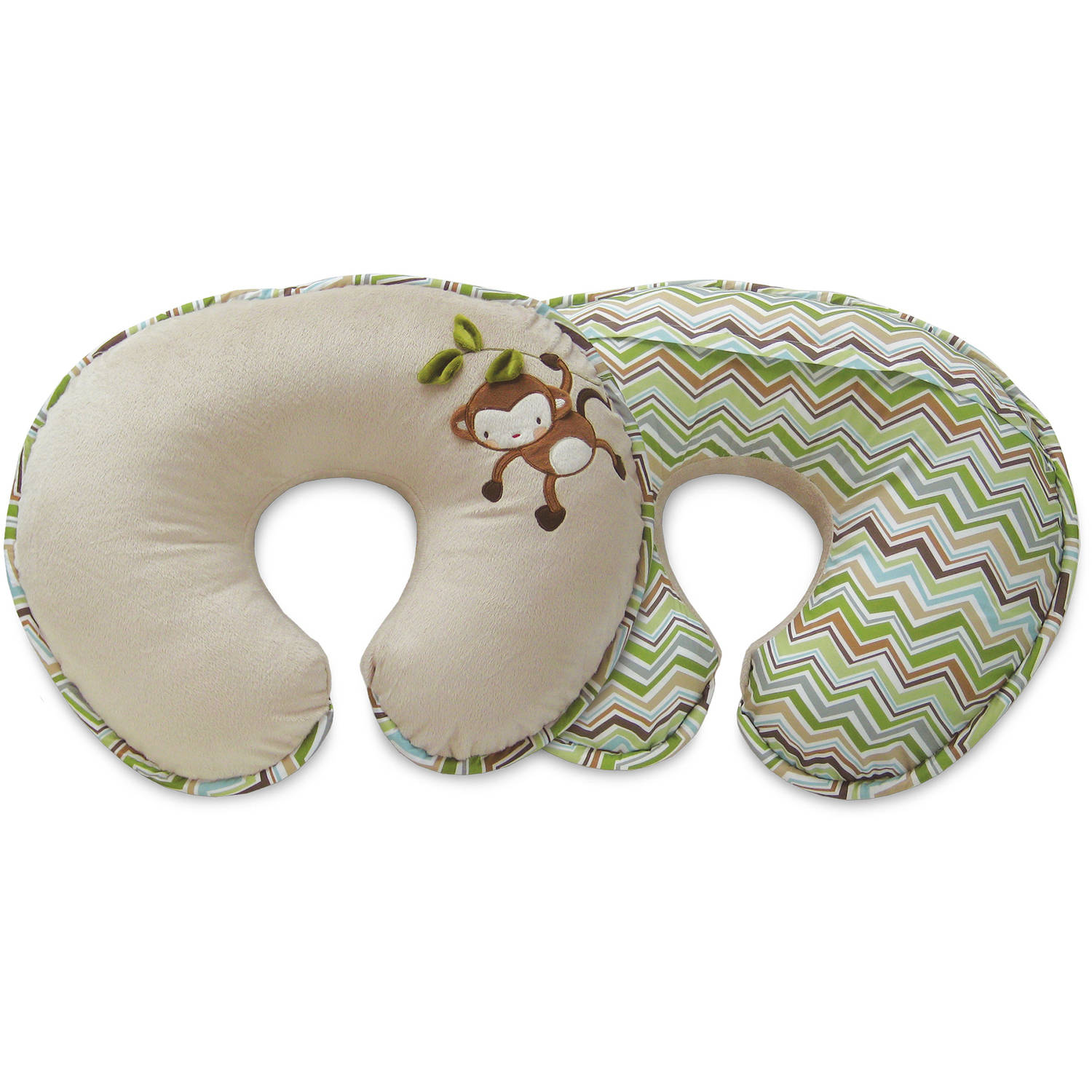 Original Boppy Nursing Pillow and Positioner - Luxe Monkey Chevron