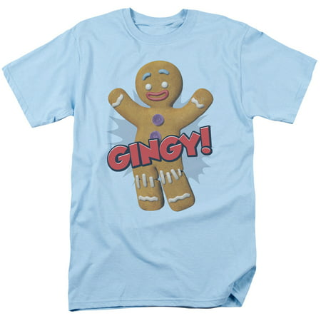 SHREK/GINGY-S/S ADULT 18/1 - LIGHT BLUE - 5X