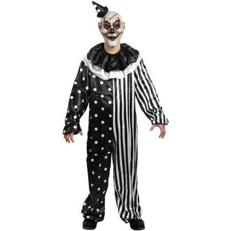 Kill Joy Clown Men's Adult Halloween Costume - Creepy Clown Costume