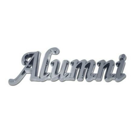 Alumni Shiny Chrome Emblem (Alumni Decal)