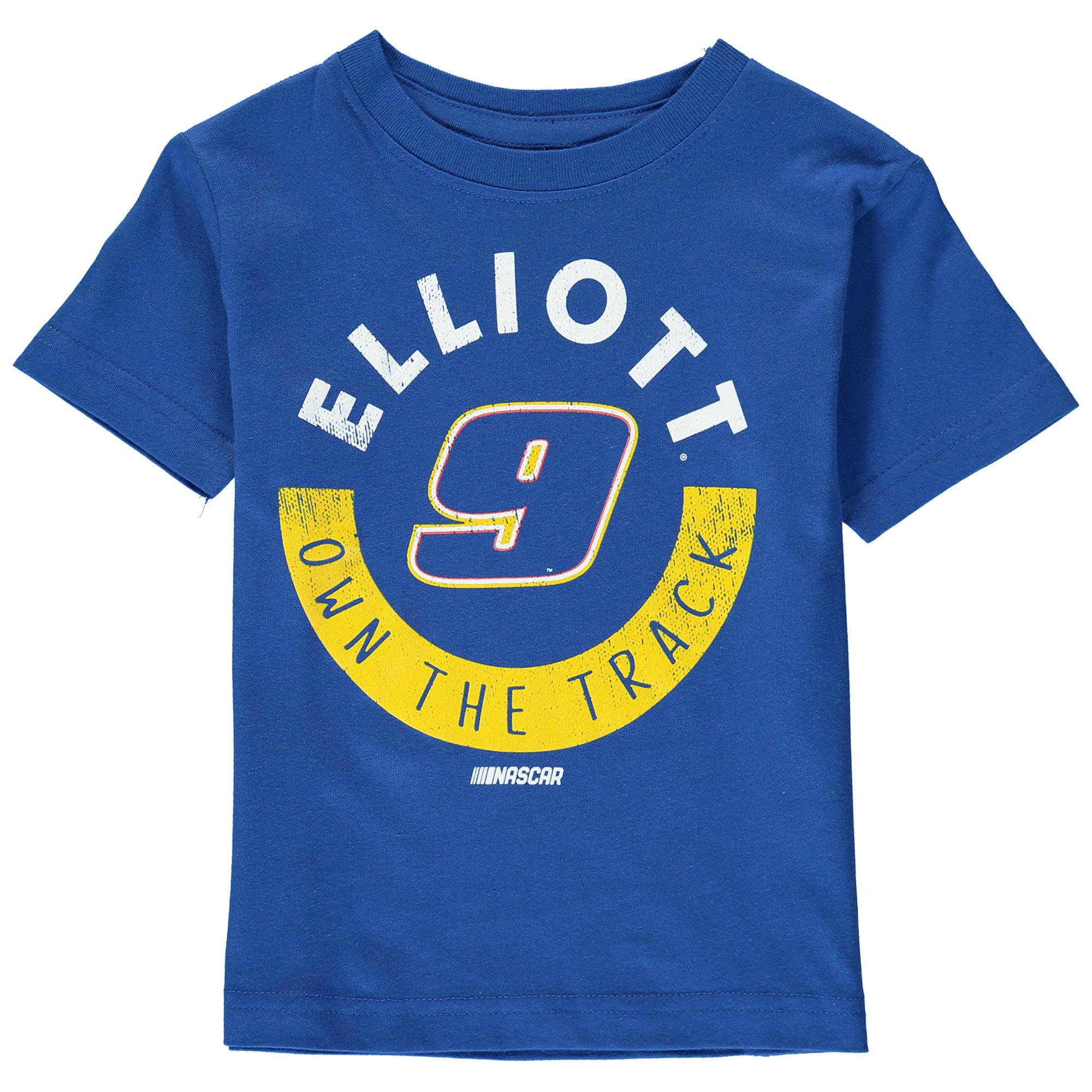 Chase Elliott Fanatics Branded Toddler Distressed T-Shirt - Royal