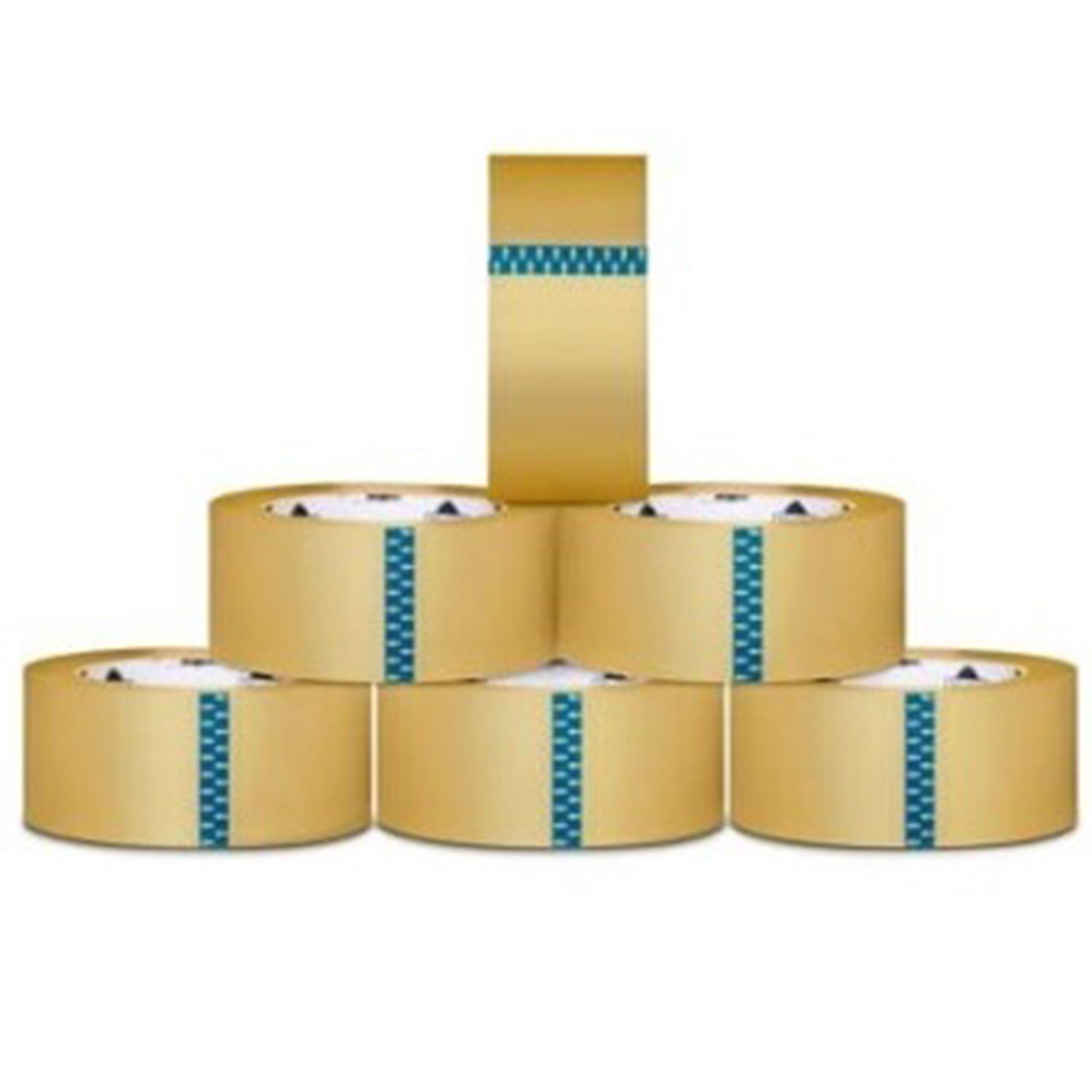 Packagingsuppliesbymail 12 ROLLS Carton Box Sealing Packing / Shipping / Box Tape 1.6 Mil 2 Inch x 110 yard