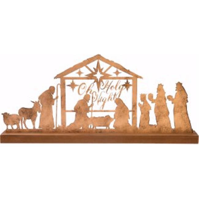 Carpentree 144293 24 x 10.5 in. Nativity Scene - Oh Holy Night - image 1 de 1