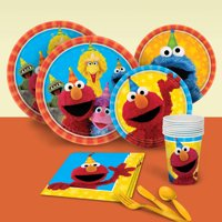 Sesame Street 2 Party Pack for 8