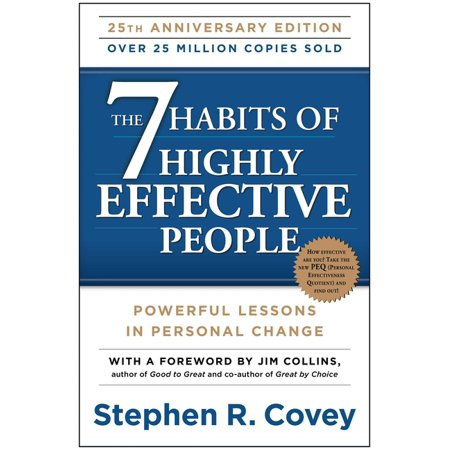 The 7 Habits of Highly Effective People: Powerful Lessons in Personal Change - Paperback
