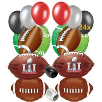 Super Bowl LI 51 2017 NFL Football Balloon Party Pack 32pc Ultimate Kit