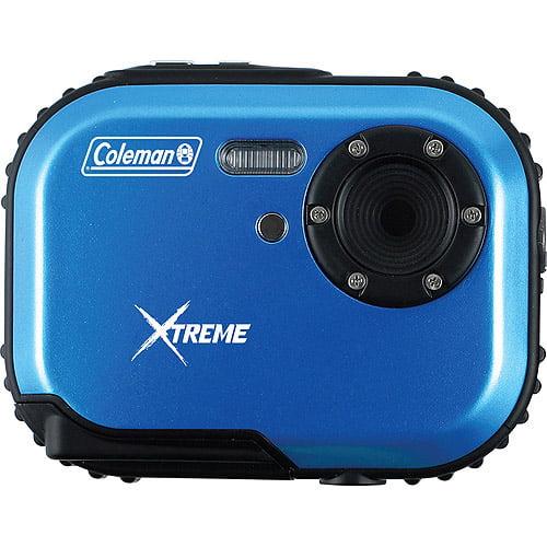 COLEMAN C3WP-BL 5.0 Megapixel Mini-Xtreme C3WP Waterproof Digital Camera (Blue)
