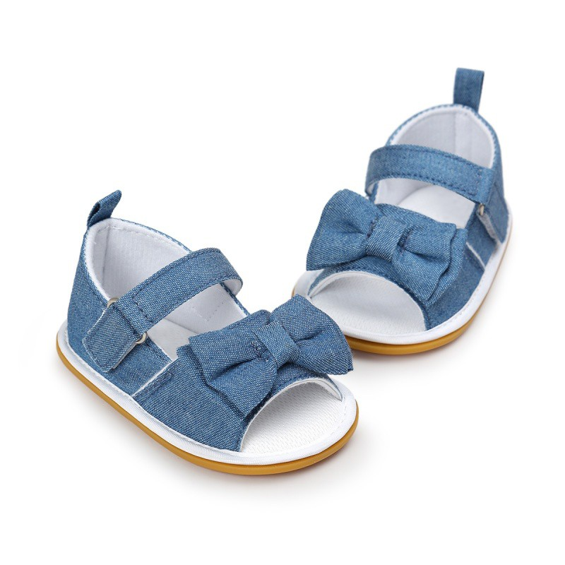 Baby Boy Soft Foam Sandals with Blue Whale detail and elasticated back strap