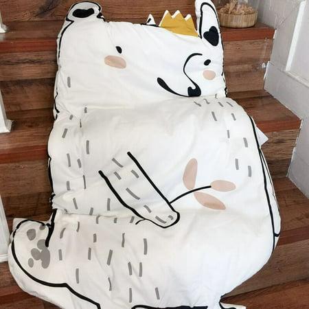 Baby Cartoon Bear Game Crawling Mat Home Furnishing Decorative Children Cotton Soft Animal Pattern Warm Mat Carpet Blanket Pad Child Sleeping