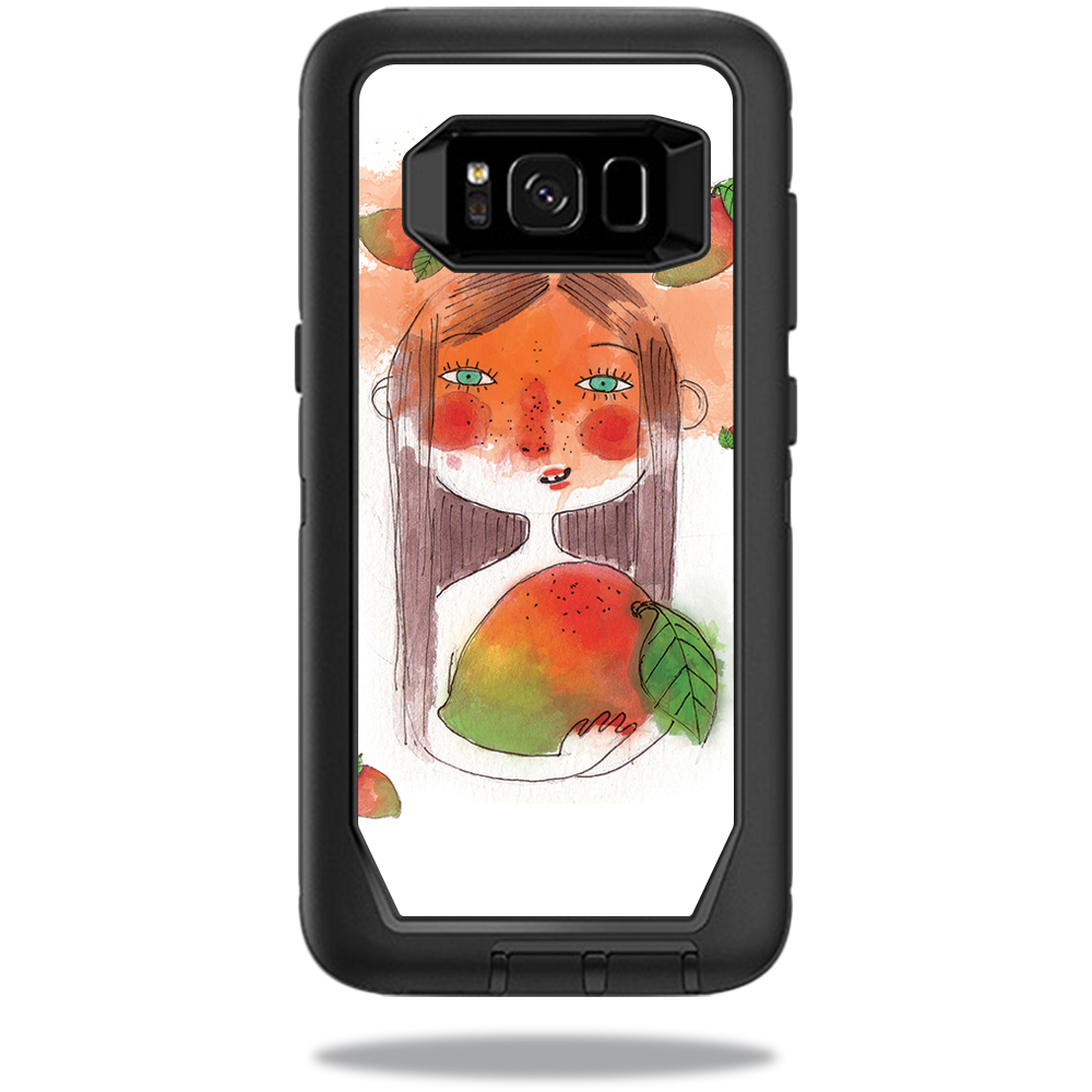 MightySkins Protective Vinyl Skin Decal for OtterBox Defender Samsung Galaxy S8 Case sticker wrap cover sticker skins April Mango