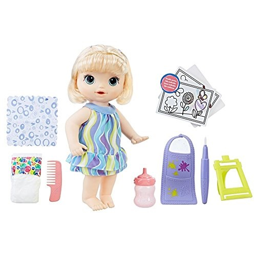 Baby Alive Finger Paint Baby - Blonde Hair