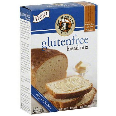 King Arthur Flour Gluten-Free Bread Mix, 18 oz (Pack of 6 ...