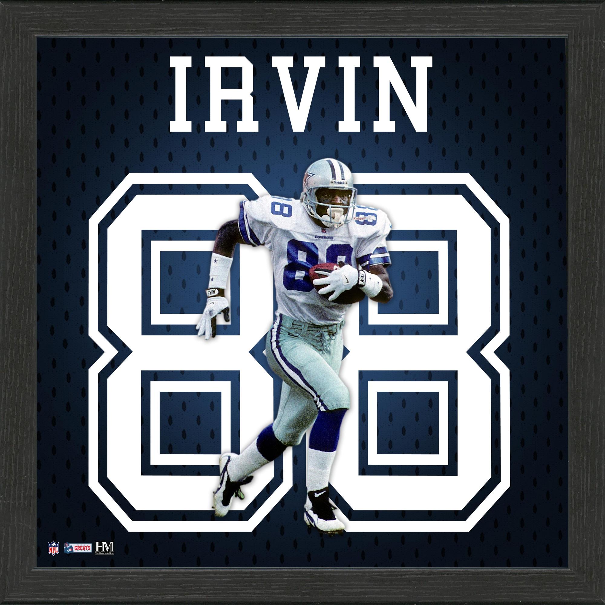Michael Irvin Dallas Cowboys Highland Mint 13'' x 13'' Jersey Number Frame - Walmart.com