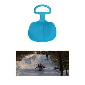 Children Snow Luge Snowboard /&Winter Sports Snow Sled Sledge Skiing Board Outdoor Sand Grass Sleigh Slider