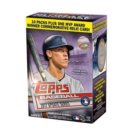 2017 Topps Updates Series Major League Baseball Value Box