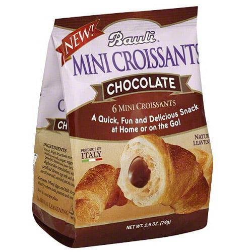 Bauli Chocolate Mini Croissants, 2.6 Oz,
