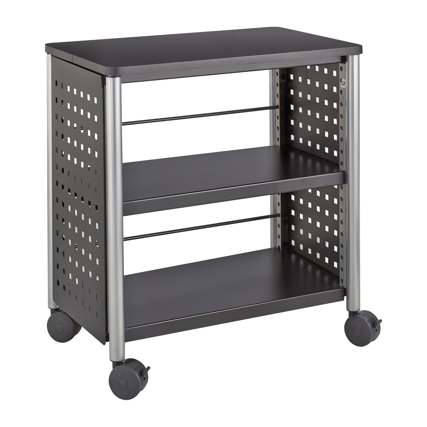 Scoot™ Personal Bookcase, Black