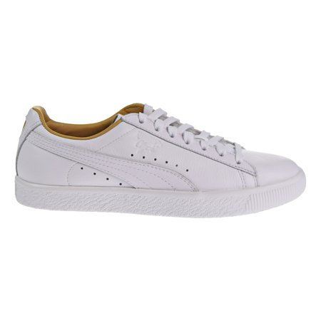 new products 21200 5c83d Puma Clyde Core Leather Women's Shoes Puma White/Taffy 365876-02 (9 B(M) US)