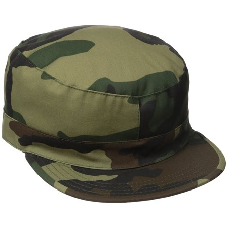 Rothco Camo Fatigue Caps - Woodland Camo, 2X-Large