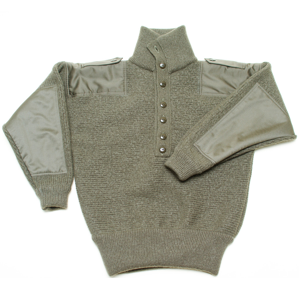 Dachstein Woolwear Military Pullover Sweater of 100% Meri...