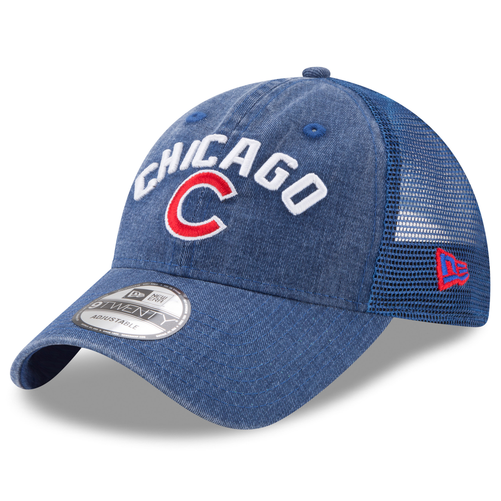 Men's New Era Royal Chicago Cubs Rugged Team 9TWENTY Snapback Adjustable Hat - OSFA