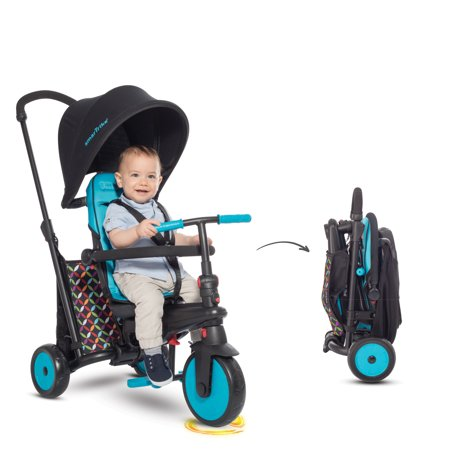 smarTrike 300 Comfort 6 in 1 Folding Trike (Kiddo Smart Design 4 In 1 Trike)