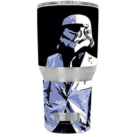 Skin Decal Vinyl Wrap for RTIC 30 oz Tumbler Cup Stickers Skins Cover (6-piece kit) / Pimped Out Storm guy
