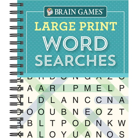 Word Game Dictionary (Brain Games Large Print Word Searchs )