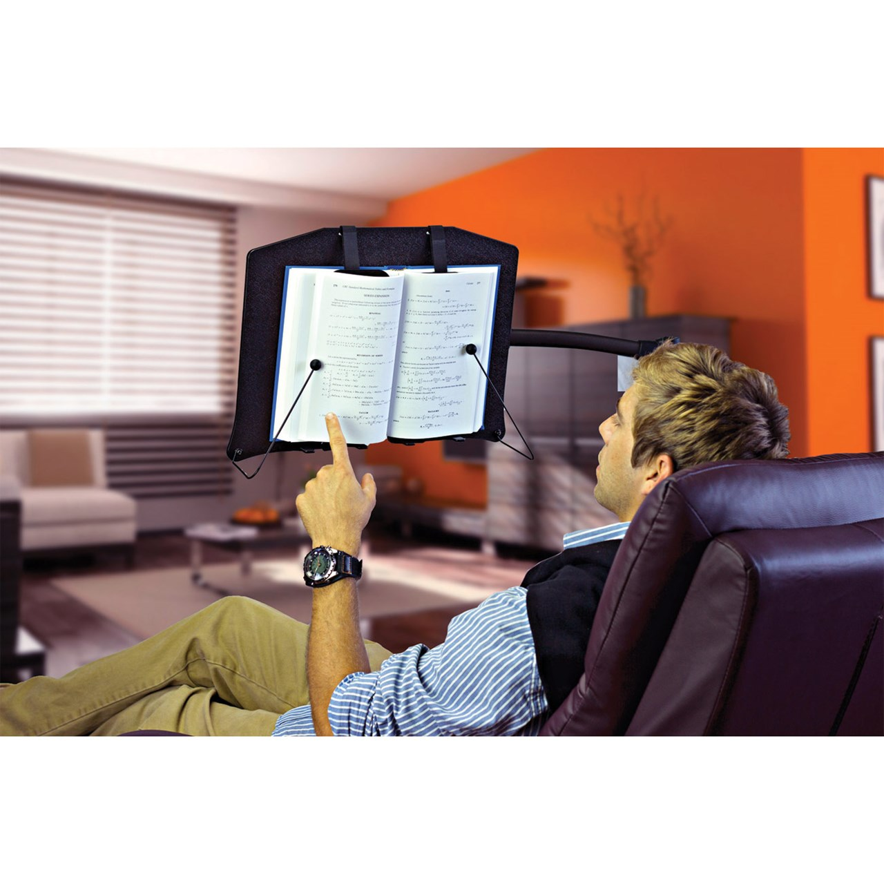 LEVO G2 Hands Free Bookholder - Reading Book Stand