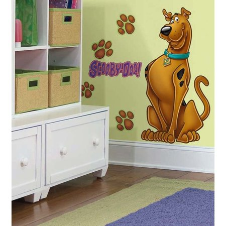 New GIANT SCOOBY DOO WALL DECALS Removable Stickers Kids Bedroom Decorations, Dimensions: 1 sheet of 18 x 40 By Sticker