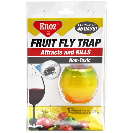 Enoz Fruit Fly Trap, .4 Oz - Walmart.com