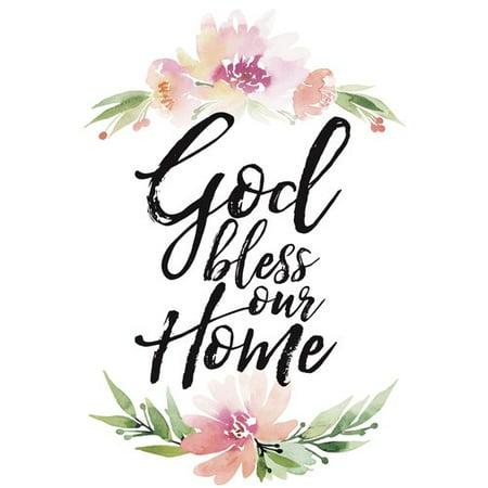 Dexsa Woodland Grace God Bless Our Home Textual Art on Wood