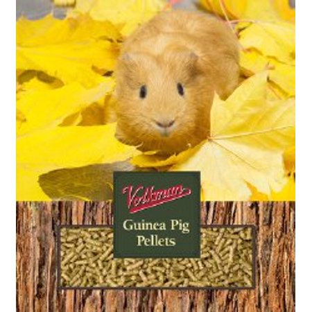 Volkman Seed Small Animal Guinea Pig Pellets Gourmet Healthy Formulated Food 4lb 4lb Small Animal Foods