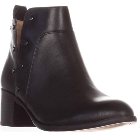 Womens Franco Sarto Richland Studded Ankle Boots, Black