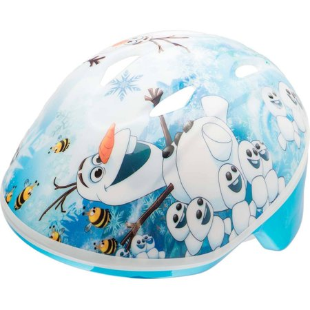 Bell Sports 7068216 Disney Frozen Olaf Sunshine and Happiness Toddler Helmet,
