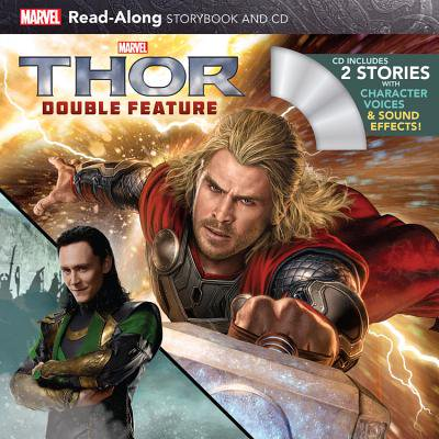 Thor Double Feature Read-Along Storybook and CD (Halloween Story Read Along)