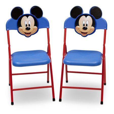 Disney Mickey Mouse 4 Piece Toddler Playroom Furniture Set Table