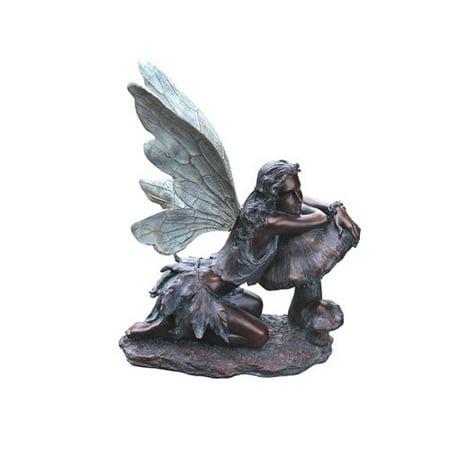 Napco Marketing Corp Fairy on Mushroom Statue