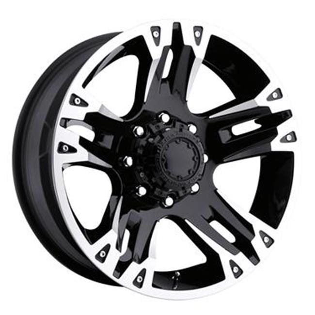 ULTRA 2377981B 237 Gauntlet Wheel - Black