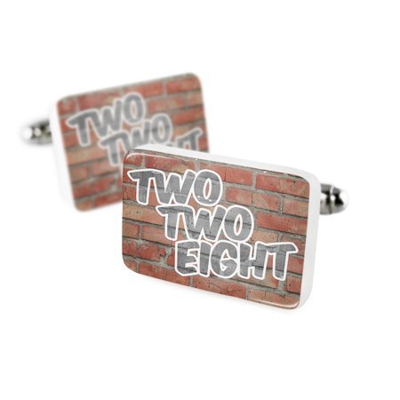 Cufflinks 228 Gulfport  Ms Brickporcelain Ceramic Neonblond