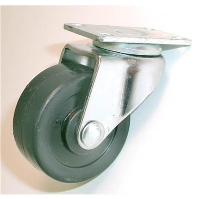 Jacob Holtz Jh5 S 5 In. Hard Rubber Plate Industrial Swivel