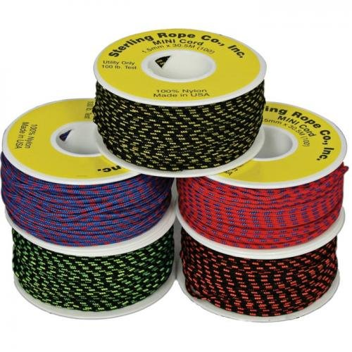 Sterling AG27090015 2.75Mmx50' Glo Cord - Yellow
