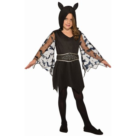 Gypsy Halloween Costume Child (Halloween Cute Bat Child)