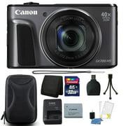 Canon PowerShot SX720 HS 20.3MP 40X Optical Zoom Wifi / NFC Enabled Digic 6 Processor Digital Camera Black with 32GB Bundle