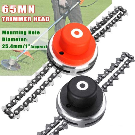 65Mn Garden Lawn Grass Trimmer Head for Chain Mower Replacement Part